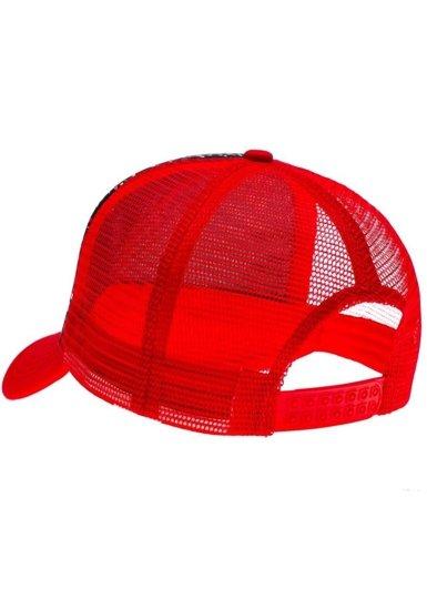 Pánská červená kšiltovka Bolf 35