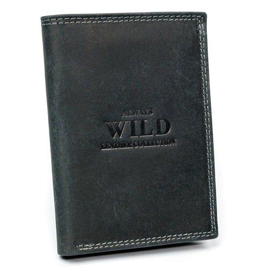 Pánská hnědá kožená peněženka 3176