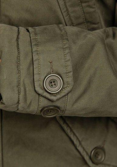 Pánská khaki zimní bunda Bolf 3148