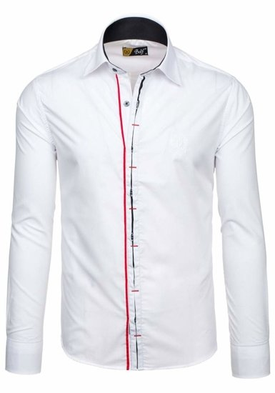 Pánská košile BOLF 1769 bílá