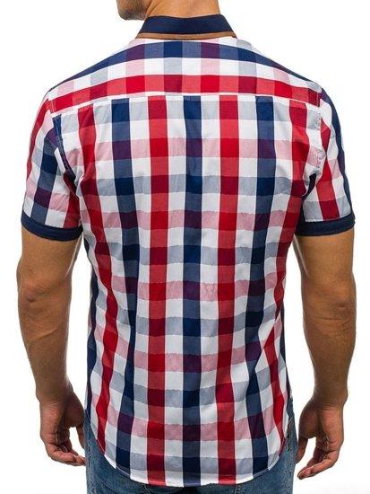 Pánská košile BOLF 5507-1 červená