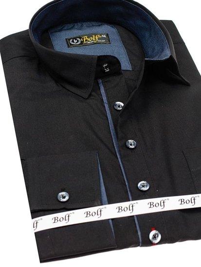 Pánská košile BOLF 5791 černá