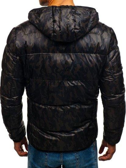 Pánská maskáčovo-khaki přechodná bunda Bolf 3146