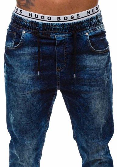 Pánské kalhoty baggy MADMEXT 808 tmavě modré