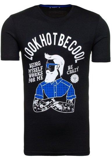 Pánské tričko ATHLETIC 1025 černé