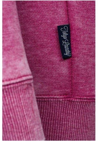 Růžová dámská mikina Bolf 6994