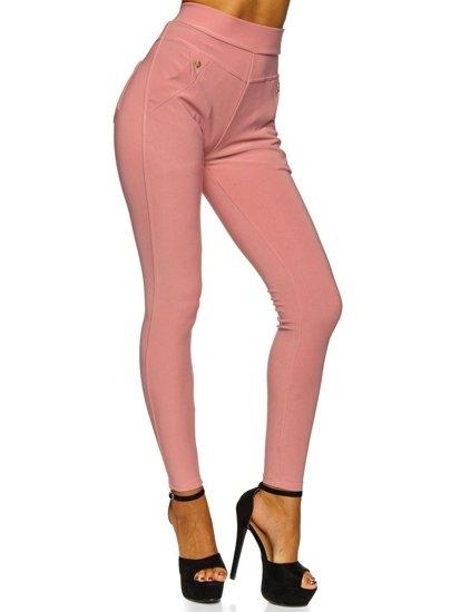 Růžové dámské legíny Bolf YW01040