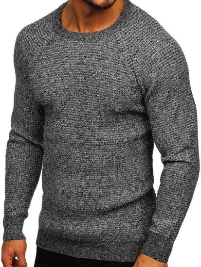Šedý pánský svetr Bolf H1932