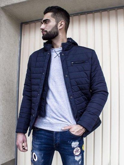 Stylizace č. 105 - zimní bunda, mikina bez kapuce, džíny