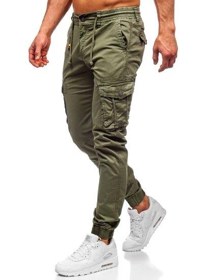 Světle zelené pánské jogger kapsáče Bolf CT6703