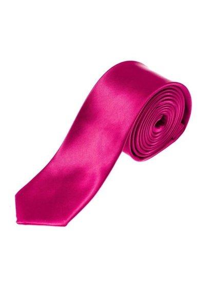 Tmavě fialová pánská elegantní kravata Bolf K001