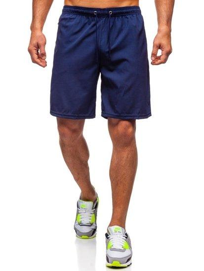 Tmavě modré pánské plavecké šortky Bolf YW02067