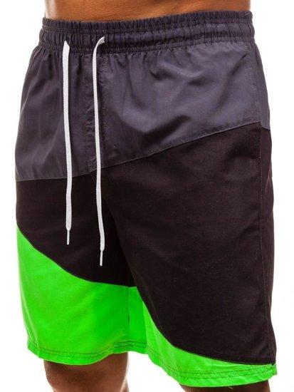 Vícebarevné pánské koupací šortky Bolf 268A