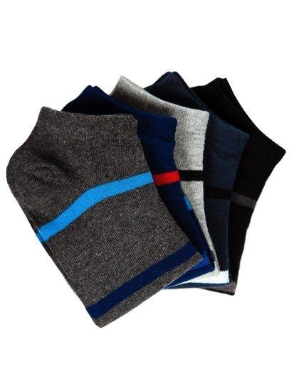 Vícebarevné pánské ponožky Bolf X10082-5P 5 PACK
