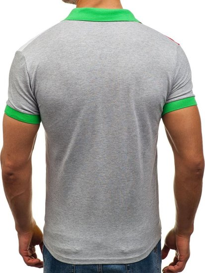 Zelená pánská polokošile Bolf 4037