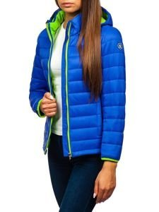 Modrá dámská přechodová bunda Bolf AB054
