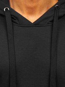 Černá pánská mikina s kapucí Bolf 2009