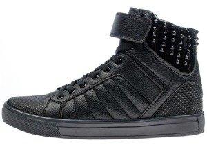 Černá pánská koženková bunda Bolf 3051