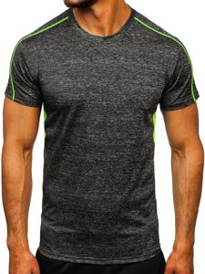 Černé pánské sportovní tričko Bolf KS2100