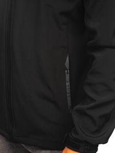 Černo-červená pánská softshellová bunda Bolf 12267