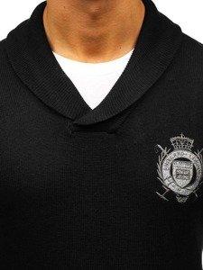 Černý pánský svetr Bolf 19022