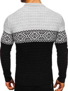 Černý pánský svetr Bolf 309