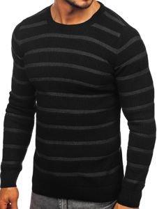 Černý pánský svetr Bolf 4356