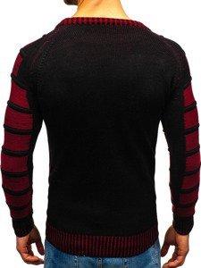 Černý pánský svetr Bolf 6007