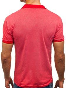 Červená pánská polokošile Bolf 5084