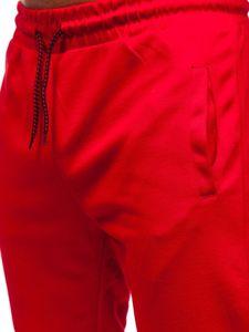 Červené pánské tepláky Bolf JZ11016