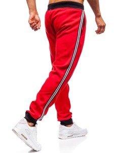 Červené pánské tepláky jogger Bolf KZ06
