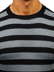 Grafitový pánský svetr Bolf BM6129