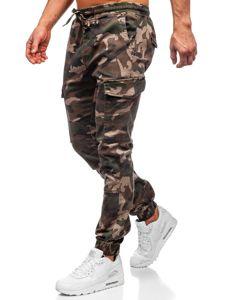 Khaki pánské jogger kapsáče Bolf RB8216XT