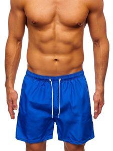 Kobaltové pánské plavecké šortky Bolf ST019