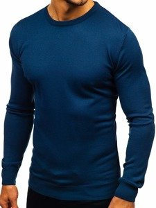 Kobaltový pánský svetr Bolf 2300
