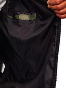 Maskáčovo-zelený pánský přechodový bomber Bolf MY01