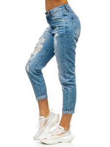 Modré dámské džíny Boyfriend Bolf DM9601
