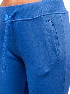 Modré dámské tepláky Bolf WB11003