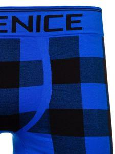 Modré pánské boxerky Bolf PL4497