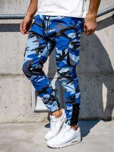 Modré pánské jogger kapsáče Bolf 0705