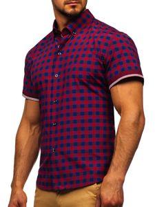 Pánská košile BOLF 4508 červená