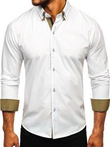 Pánská košile BOLF 4708 bílá