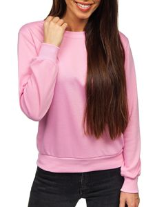 Růžová dámská mikina Bolf W01