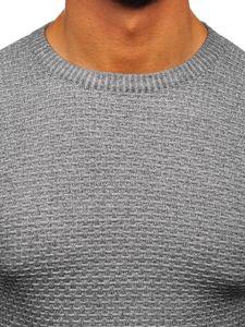 Šedý pánský svetr Bolf 8512