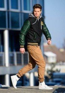 Stylizace č. 148 - přechodná bunda, jogger kalhoty, tenisky