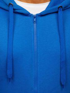 Světle modrá pánská mikina s kapucí Bolf 2008