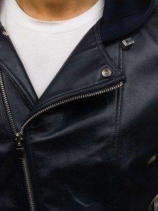 Tmavě modrá pánská přechodová bunda Bolf 2295