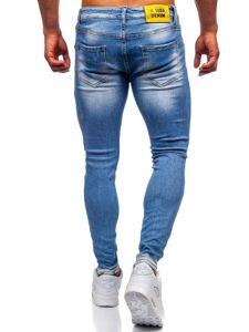 Tmavě modré pánské džíny skinny fit Bolf KX522