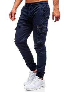 Tmavě modré pánské jogger kapsáče Bolf CT6702