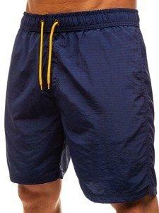 Tmavě modré pánské koupací šortky Bolf 82243